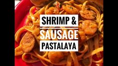 This Shrimp & Sausage Pastalaya is a delicious Cajun style recipe that is sure to please and made for a perfect recipe onboard our sailboat. Pastalaya Recipe, Youtube Cooking Channels, Great Recipes, Favorite Recipes, Sailboat, Ribs, Bon Appetit, Food Hacks, Louisiana