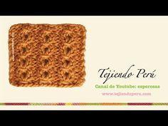 CURSO GRATIS DE TEJIDO DOS AGUJAS: Punto Ojo de Perdiz   Crochet y Dos agujas