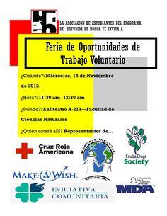 Para Trabajo Voluntario!!!!