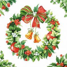 napkins christmas,  Christmas,  lunchnapkins