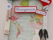 Geldgeschenk zur Hochzeit - Honeymoon