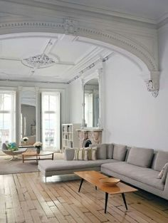 Simple living room that we love
