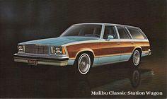 1978 Malibu Classic Station Wagon