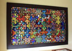 Amuzapalooza! a Jigsaw Puzzel Mural ~ Lin Schorr Photostream on Flicker