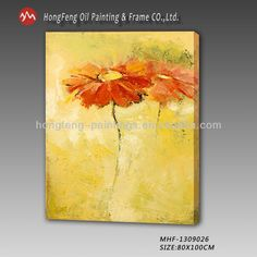 High quality modern decor daisies flower oil paintings MHF-1309026 ...