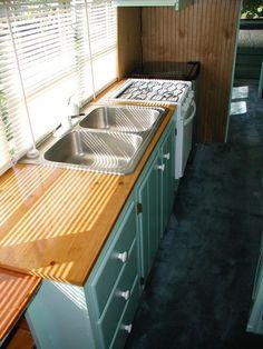 Bus conversion - kitchen