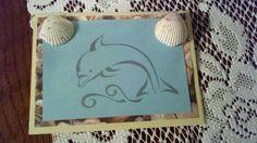 Открытки с дельфинами своими руками