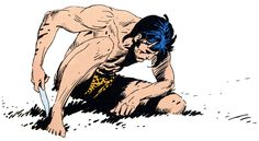 Joe Kubert´s Tarzan.  Simple lines, grace and form from the master. R.I.P.