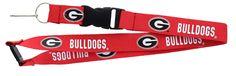 ~Georgia Bulldogs Lanyard - Red~backorder