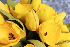 Тюльпаны из фоамирана/ревелюра. Мастер-классы от IrinKa