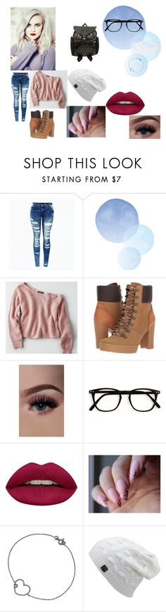 """Tiffany Hontamy"" by soph-super ❤ liked on Polyvore featuring American Eagle Outfitters, See by Chloé, Huda Beauty and Fleet Ilya"
