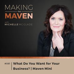 Are you struggling to be visible within your business? If you're not crystal clear on why people should want to pay you money to come see you, or even if you don't know what makes you, well, you, find more focus!