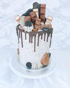 139 vind-ik-leuks, 13 reacties - Garden of Sweets (@gardenofsweets) op Instagram: 'Chocolate Dream cake | vanilla bean cake layers filled with nutella buttercream and crushed…'