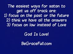 Dont fall for the lie of working your way to God - it didnt work in Babel and it wont work for you!