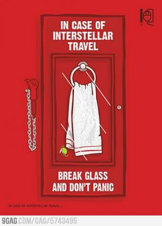 Friday, May is Towel Day ! Celebrate Douglas Adams and the Hitchhiker's Guide to the Galaxy! Douglas Adams, The Hitchhiker, Hitchhikers Guide, The Big Theory, Answer To Life, Guide To The Galaxy, Don't Panic, Geek Out, Know Your Meme