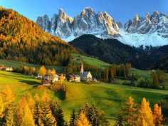 Val di Funes, The Dolomites, Italy