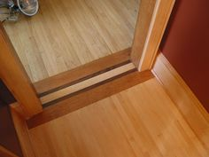 wood floor transition | Flickr - Photo Sharing!