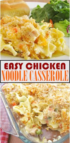 Discover recipes, home ideas, style inspiration and other ideas to try. Chicken Egg Noodle Casserole, Chicken And Egg Noodles, Cream Of Chicken Casserole, Quick Casseroles, Easy Casserole Recipes, Chicken Noodle Recipes, Baked Chicken Recipes, Quick Easy Chicken Recipes, Chicken Meals