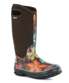 Take a look at this Bogs Chocolate Classic High Stargazer Boot on zulily  today!