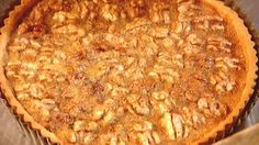 Walnut tart | This tart recipe is perfect for Autumn, it even looks Autumnal. The key ingredients are walnuts, butter and corn or maple syrup, combined in this tart they make a delicious, nutty, caramel dessert. Serve with ice cream or cream, if desired. Caramel Corn Recipes, Nut Recipes, Almond Recipes, Dessert Recipes, Rice Recipes, Ice Cream Recipes, Pecan Desserts, Delicious Desserts, Pies