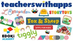 TWA highly recommends all of these PRESCHOOL apps as great choices for being educational, FUN & engaging!