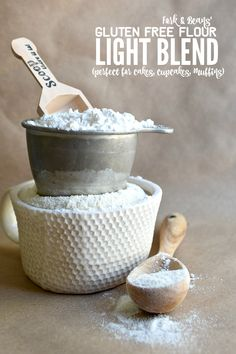 Each gluten free flour works differently based off of what baked good you want to make. Read this post for THE best gluten free flour blend for cakes!