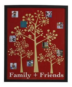 Loving this 'Family + Friends' Nine-Photo Collage Picture Frame on #zulily! #zulilyfinds