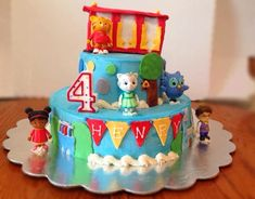Project Randi: Daniel Tiger Birthday Cake