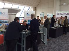 Lots of enquiries on the stand at day1 of Explore Offsite 2016 event