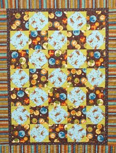 Monkey in the Middle Free Pattern: Robert Kaufman Fabric Company love it!!!