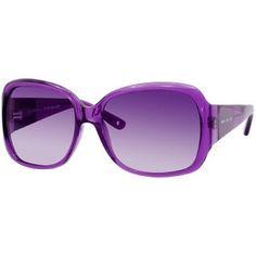 Juicy Couture Honey Bunny/S Women's Fashion Sunglasses - Purple Crystal/Plum Gradient