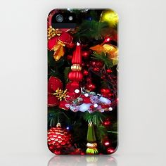 Old Fashioned Christmas iPhone & iPod Case by lillianhibiscus - $35.00