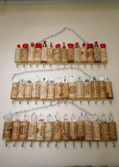 Porta gioielli di sughero del vino di CinTinque su Etsy