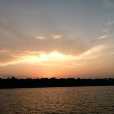 Sunset on Lake Blackshear, GA