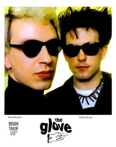 The Glove: When Robert Smith and Steven Severin played hooky from The Cure & Siouxsie & the Banshees | Dangerous Minds