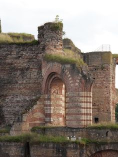 Trier, Germany - the Roman ruins are awesome.