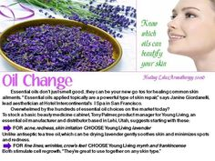 Oils for skin - Young Living