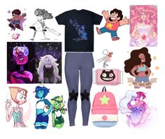 """""""Steven Universe"""" by loa-chan ❤ liked on Polyvore featuring Cartoon Network"""