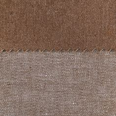 ANICHINI Fabrics | Janus Chestnut 12 Residential Fabric - a brown double faced linen fabric