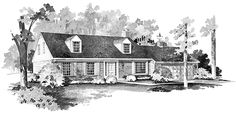 Space For The Growing Family HWBDO01860 Colonial from BuilderHousePlans.com