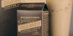 Stumptown Coffee Roasters: Cold Brew Coffee with Milk