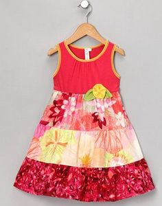 Tiered dress, seen at Zulily (it's a girl's world)