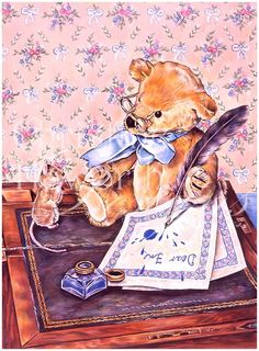 Meadow Cottage Bears : A Little Mischief © Copyright Christine Haworth Designs