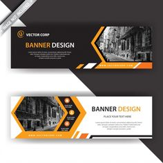 Get the web banner with black orange design for free. Post Design, Graphisches Design, Stand Design, Banner Design Inspiration, Web Banner Design, Creative Banners, Web Banners, Ads Creative, Creative Advertising