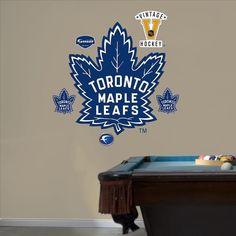 Fathead Toronto Maple Leafs Wall Decals & Fathead Toronto Blue Jays Wall Decals | Homecoming Dress | Pinterest ...