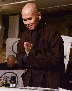 My beloved Thay. Thich Nhat Hanh, Weird place for this perhaps, but then perhaps not. :) Please ignore the headline; not mine; can't remove.