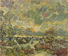 Reminiscence of Brabant - Vincent van Gogh - 1890