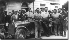 This Day in History:  Oct 5, 1919: Enzo Ferrari makes his debut as a race car driver http://dingeengoete.blogspot.com/ http://www.ddavid.com/formula1/images/ferrari22.jpg