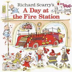 Richard Scarry's A Day at the Fire Station (Pictureback(R)) by Richard Scarry http://smile.amazon.com/dp/0307105458/ref=cm_sw_r_pi_dp_dLJKtb03VB91R1HC