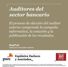 El proceso de elección del Auditor Externo comprende la campaña informativa, la votación y la publicación de los resultados.